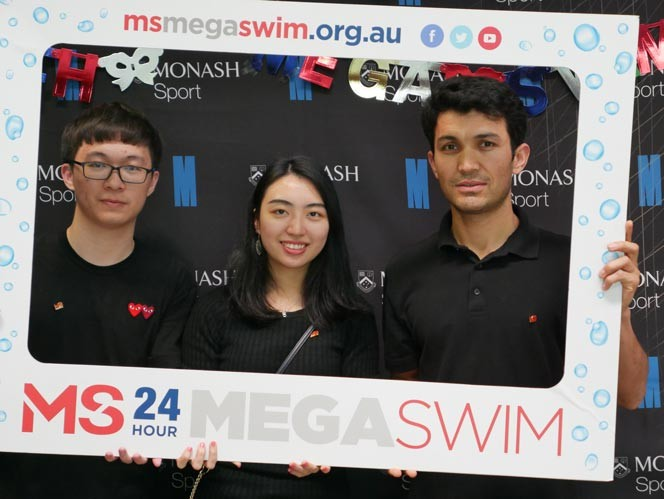 2018 MS 24 Hour Mega Swim Monash