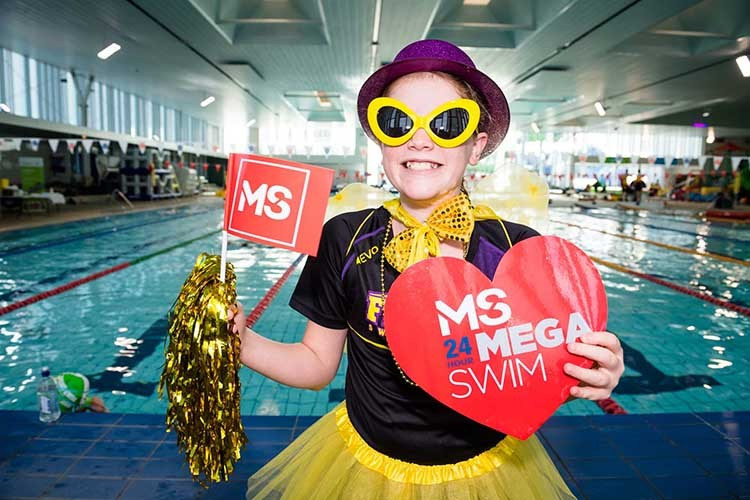 2018 MS 24 Hour Mega Swim Frankston