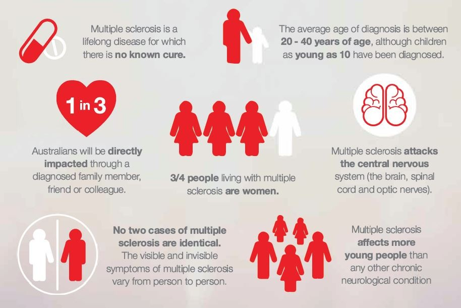 About MS infographic