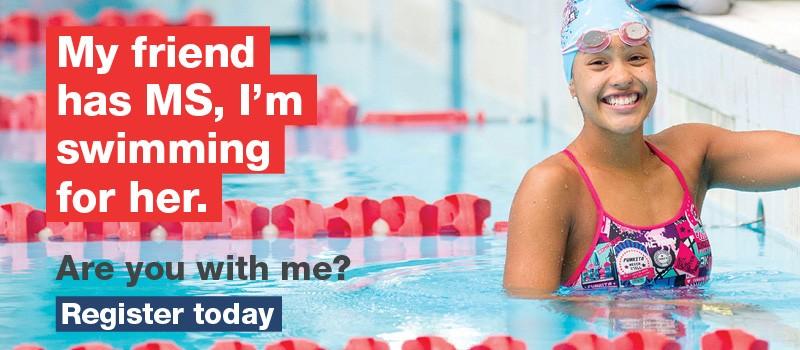 MS Mega Swim - Fundraising
