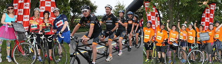 Create your team for the MS Melbourne cycle