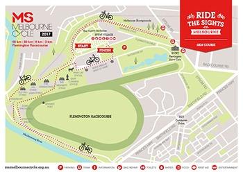 6 km course