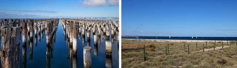 Port Melbourne Foreshore and Princes Pier