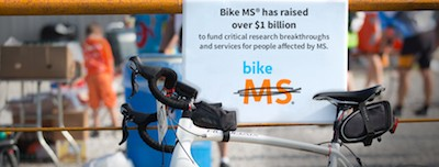 Bike MS has raised over $1 billion banner image