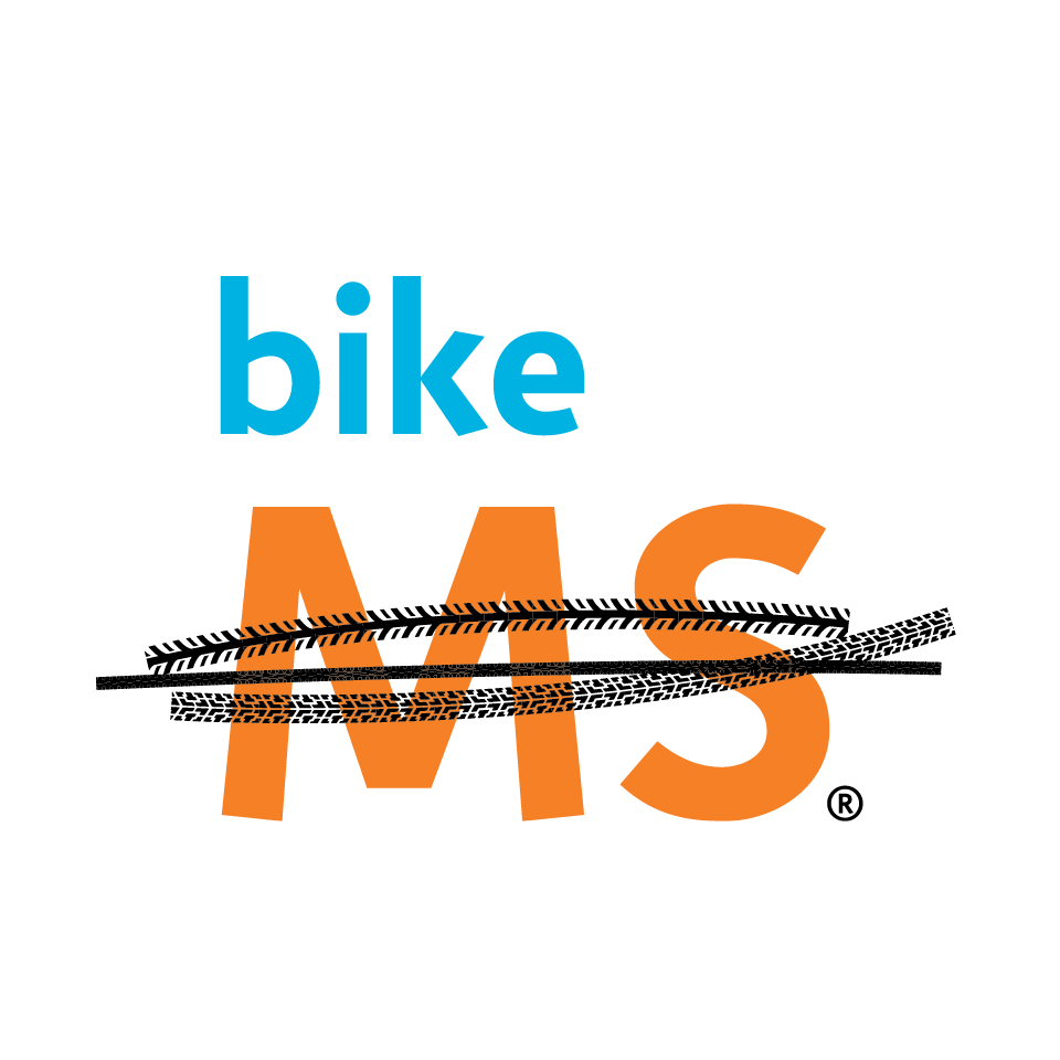 bike MS logo on white background