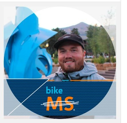 Bike MS Facebook photo frame