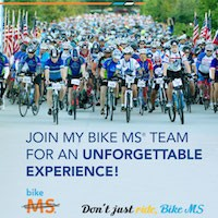 Join my bike MS team for an unforgettable experience image
