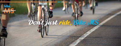 Don't just ride, Bike MS alternative banner image