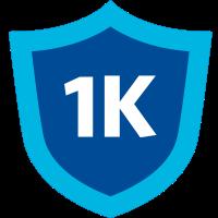 1k badge