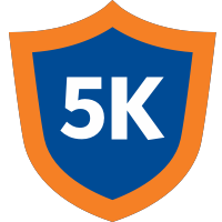 5k badge