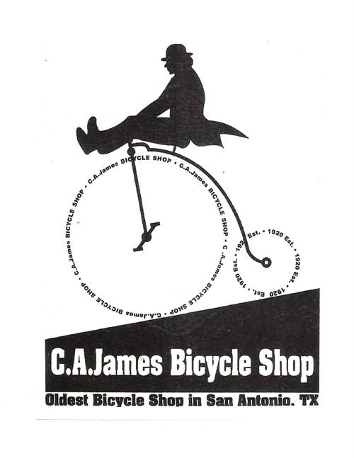 C.A. James Bike Shop