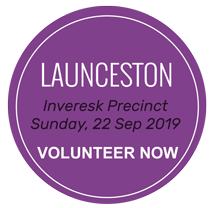 Launceston - volunteer