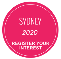 Sydney - REGISTER your interest NOW