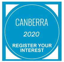 Canberra - REGISTER your interest NOW