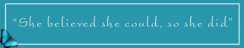 Image result for she believed she could so she did banner