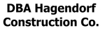DBA HAGENDORF CONSTRUCTION CO