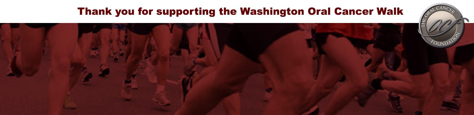 Washington Oral Cancer Foundation Walk