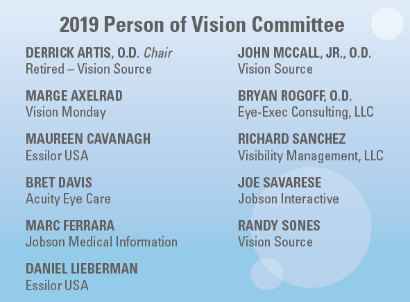 2019 Person of Vision Committee