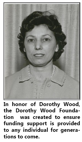 Dorothy Wood was Redwood's first executive director