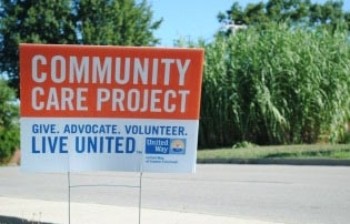 Corporate groups can volunteer for Community Care Days