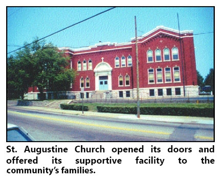 St. Augustine and St. Benedict Churches first hosted Redwood