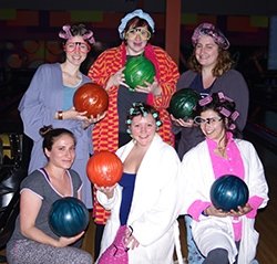 Bowlers in pajamas