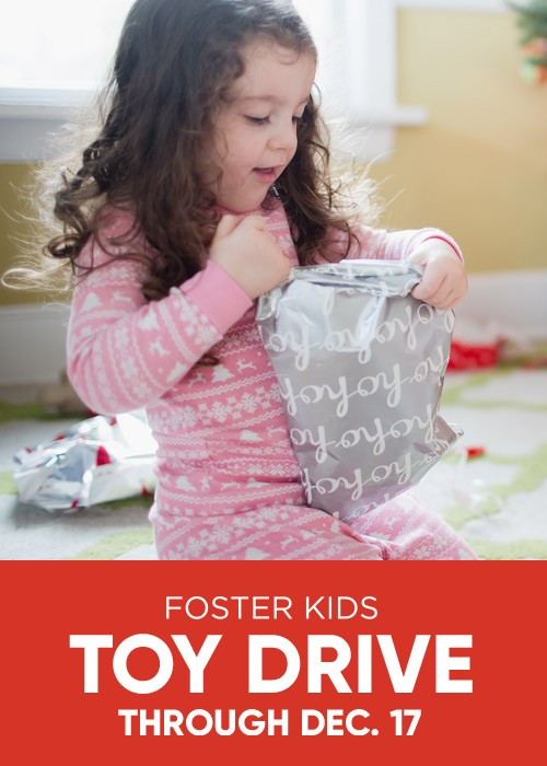 Mattress Firm Foster Kids - Toy Drive 11/1-12/16  - Donate Now