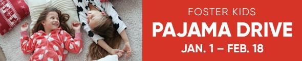 Mattress Firm Foster Kids - Pajama Drive - January 1 through February 18