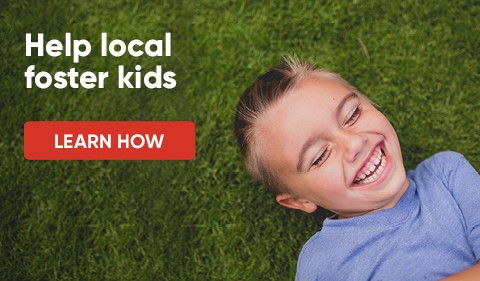 Help Local Foster Kids - Learn Now