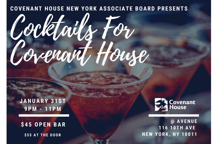 Join us for a Cocktail for Covenant House!