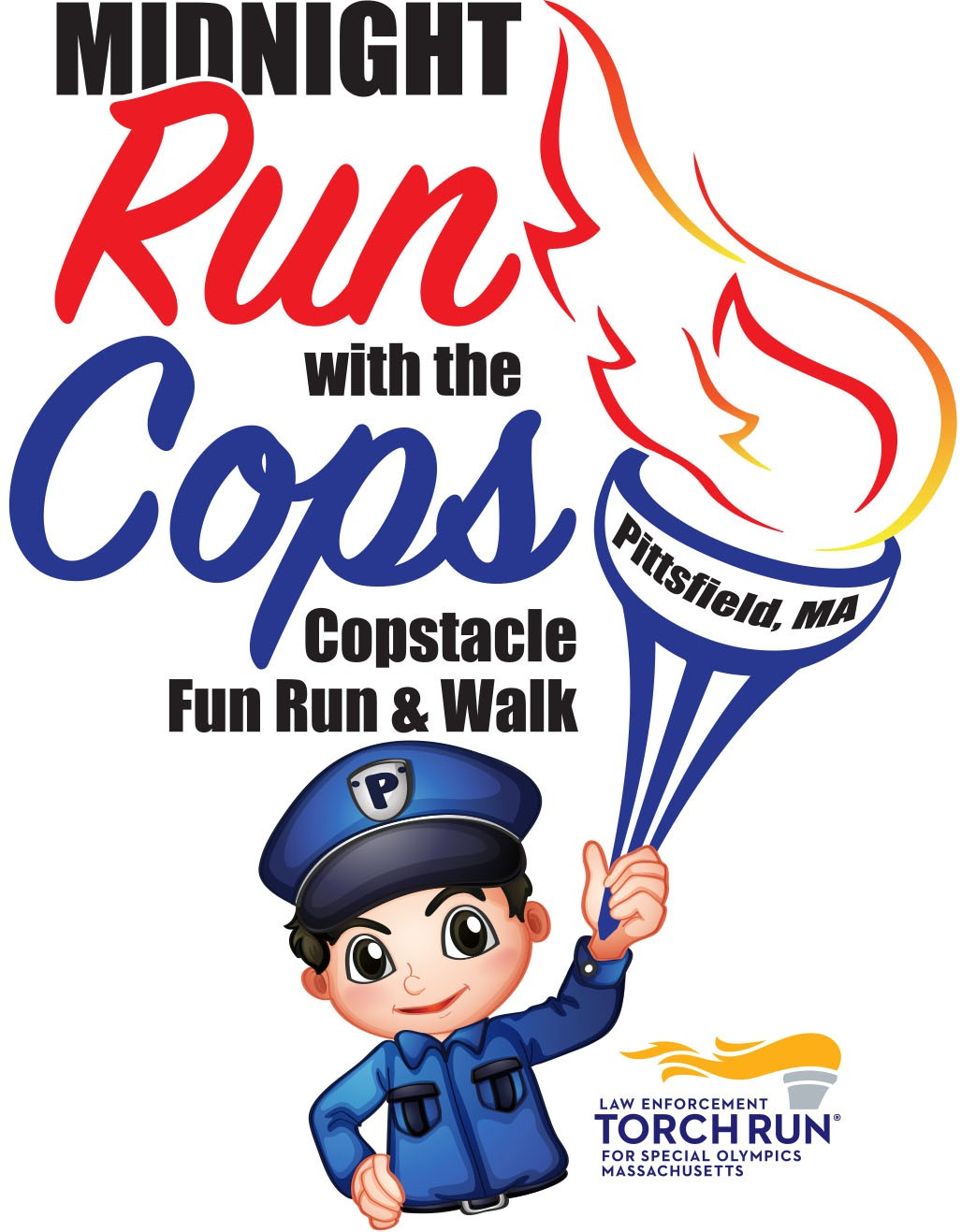 Run with the Cops - Pittsfield