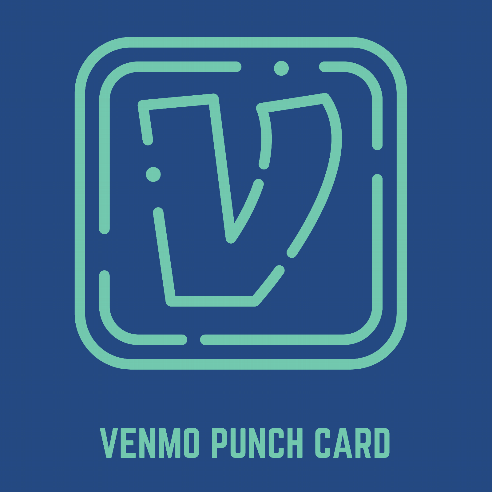 Venmo Punch Card