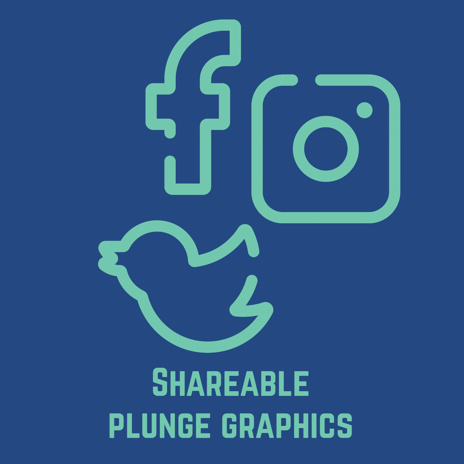 Shareable Plunge Graphics