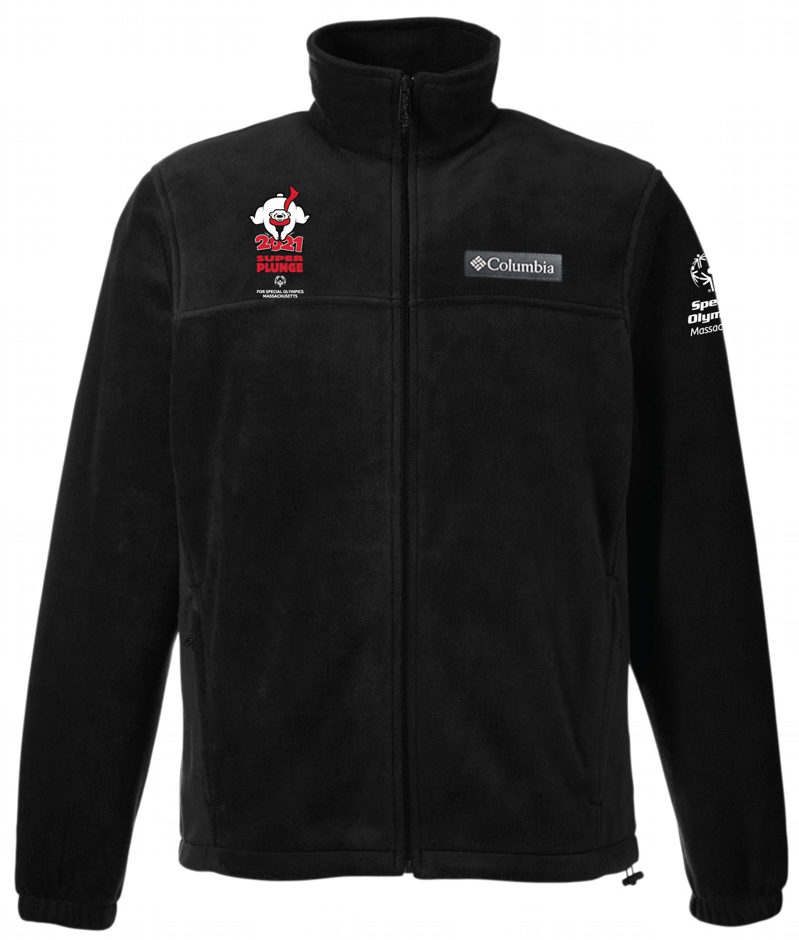 Columbia Black Jacket with SOMA and Plunge logo