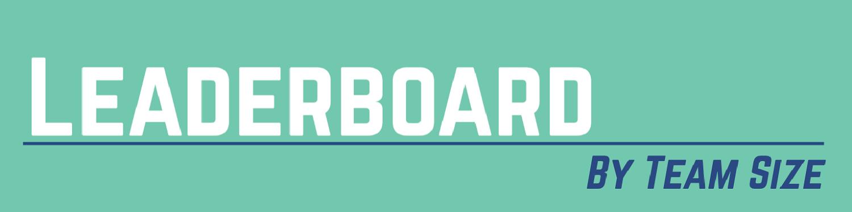 Team Size Leaderboard Header