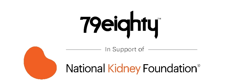 79eighty in support of the national kidney foundation