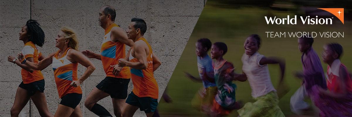 Team World Vision runners