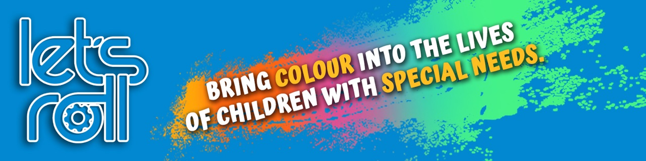 Bring colour into the lives of children with special needs.