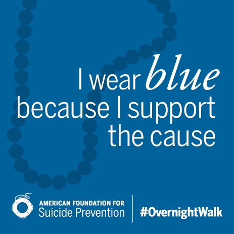 I Wear Blue Beads