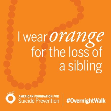 I Wear Orange Beads
