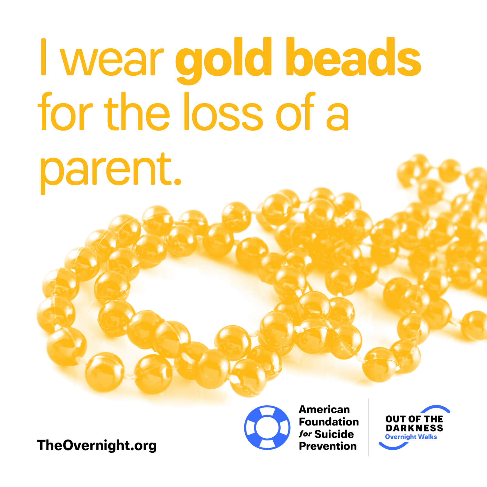 I Wear Gold Beads