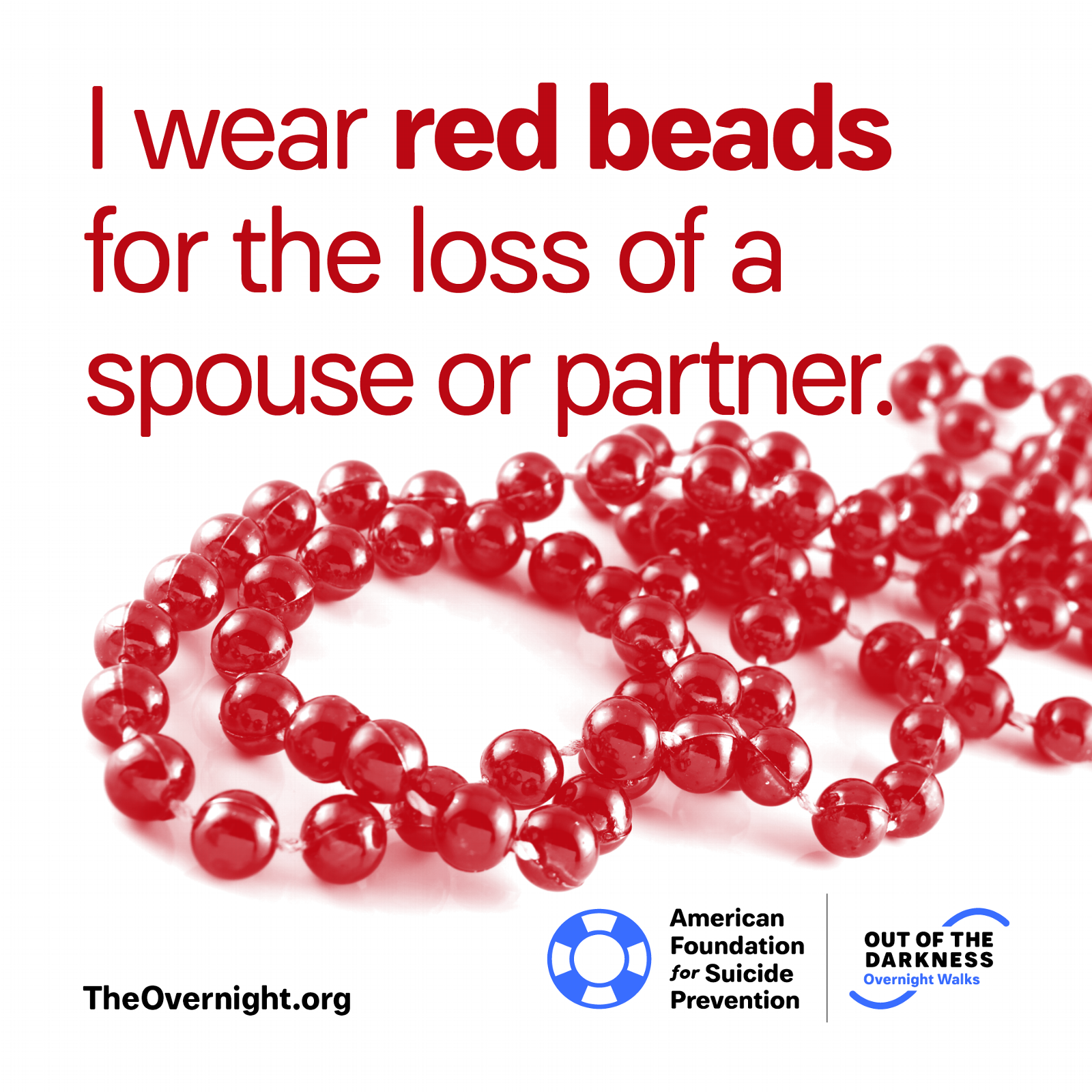 I Wear Red Beads