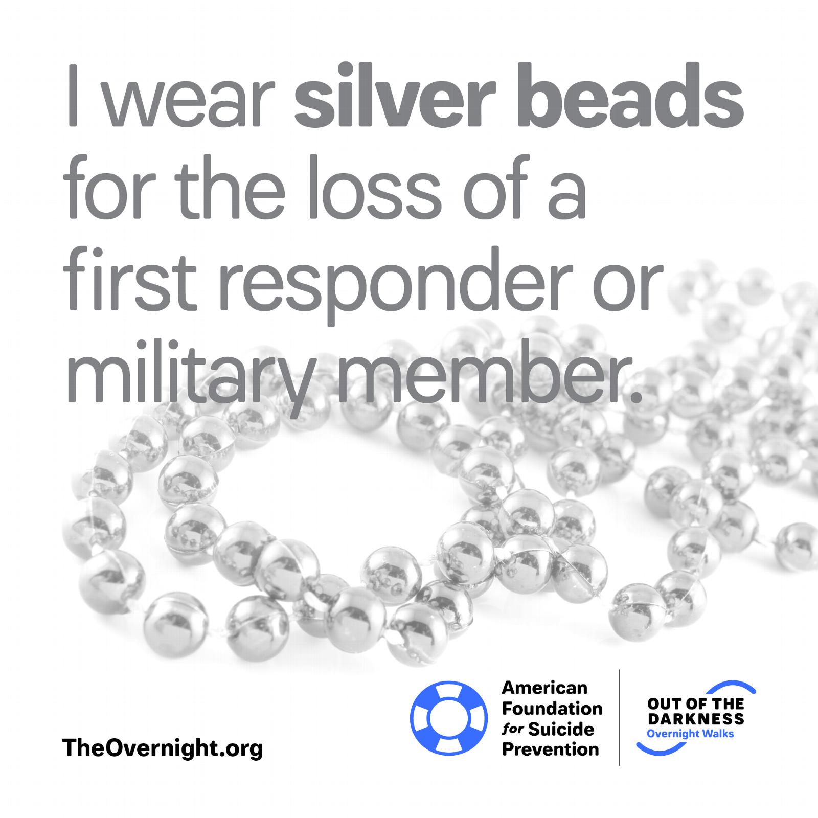 I Wear Silver Beads