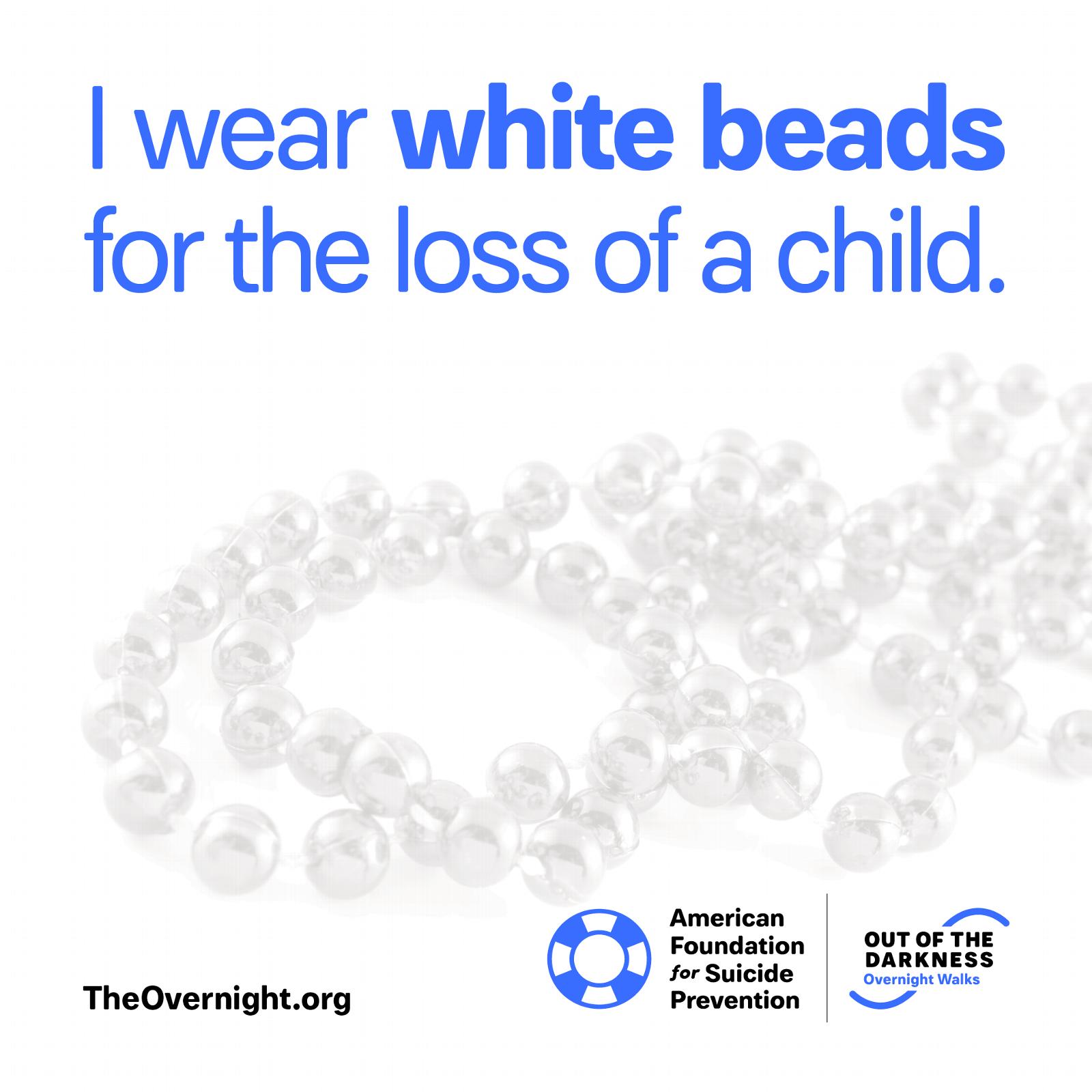 I Wear White Beads
