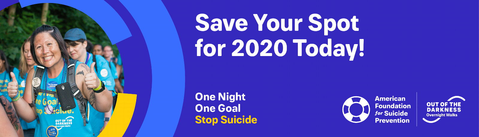 Save Your Spot for the 2020 Overnight Walks