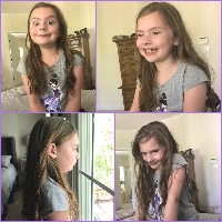Violet is Getting a Hair Cut for Wigs for Kids! profile picture